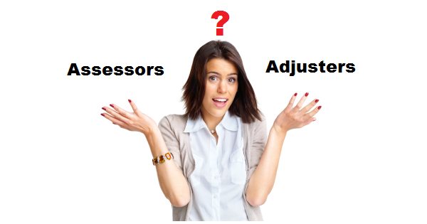 Difference between Loss Assessors and Loss Adjusters?